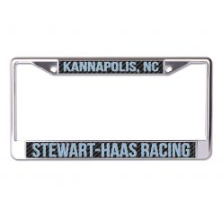 Exclusive Stewart-Haas Racing Carbon License Plate Frame
