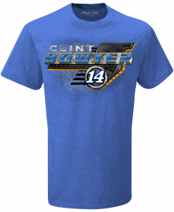 Clint Bowyer 2019 Toco Stewart-Haas Racing Blue Tee