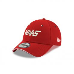 DS 2019 Haas New Era Scarlet Hat