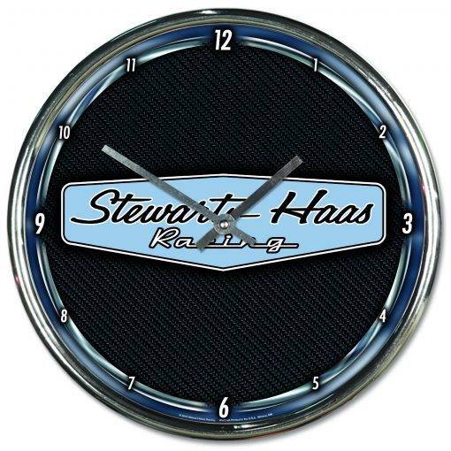 SHR Chrome Wall Clock