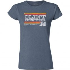 Clint Bowyer 2019 Stewart-Haas Racing Ladies Vintage Tee
