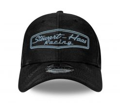 SHR New Era Black Tonal Camo Hat