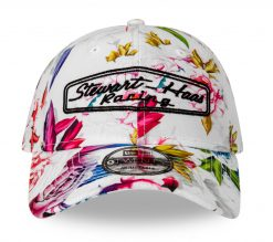 Exclusive Stewart-Haas Racing New Era White Floral Hat