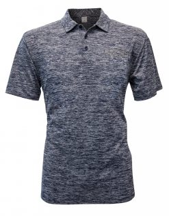 Exclusive Stewart-Haas Racing Men's Heather Navy Polo