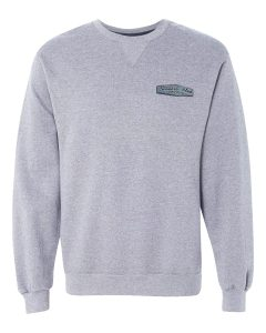 SHR Logo Gray Crew Neck Sweatshirt
