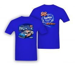 Chase Briscoe Xfinity 2019 Ford Motor Company Stewart-Haas Racing Darlington Throwback Tee