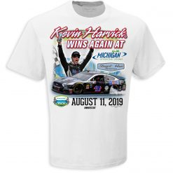 Kevin Harvick 2019 Mobil 1 Stewart-Haas Racing Michigan Win Tee