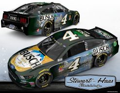 Kevin Harvick 2019 Busch Stewart-Haas Racing Ducks Unlimited 1/24 Scale HO Diecast