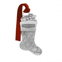 Exclusive Stewart-Haas Racing Pewter Stocking Christmas Ornament