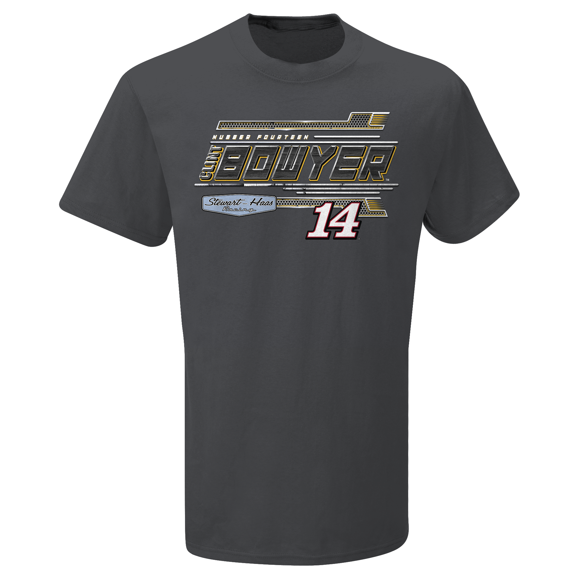 Clint Bowyer 2020 Rush Truck Centers Stewart-Haas Racing Steel Thunder Tee