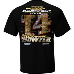 Clint Bowyer 2020 Stewart-Haas Racing Schedule Tee