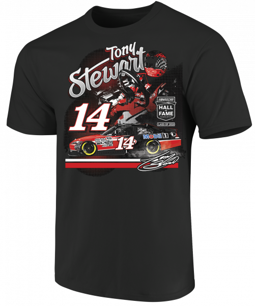 Tony Stewart Stewart-Haas Racing Nascar Hall of Fame Tee