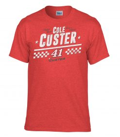 Cole Custer 2020 Born in CA Stewart-Haas Racing 41 Tee
