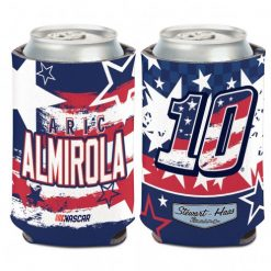 Aric Almirola 2020 Stewart-Haas Racing Patriotic Can Cooler