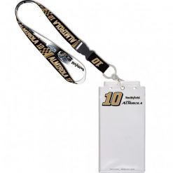 Aric Almirola 2020 Smithfield Stewart-Haas Racing Lanyard and Holder with Buckle