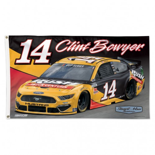 Clint Bowyer 2020 Rush Truck Centers Stewart-Haas Racing 3X5 Flag