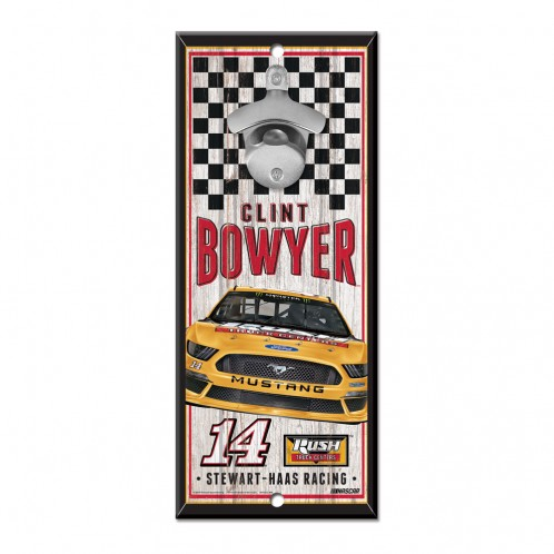 Clint Bowyer 2019 Rush Truck Centers Stewart-Haas Racing Bottle Opener