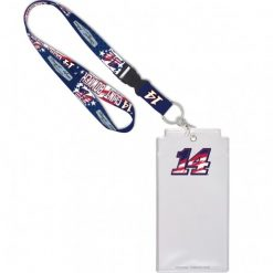 Clint Bowyer 2020 Patriotic Stewart-Haas Racing Credential Holder w/Lanyard & Buckle