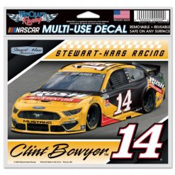 Clint Bowyer 2020 Rush Truck Centers Stewart-Haas Racing 5X6 Decal