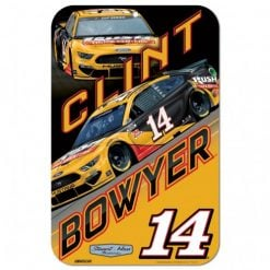 Clint Bowyer 2020 Rush Truck Centers Stewart-Haas Racing 11X17 Sign