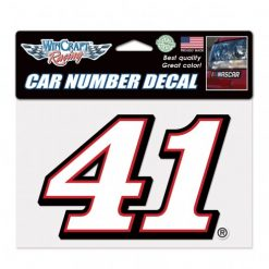 Cole Custer 2020 Haas Stewart-Haas Racing Car Number 41 Decal