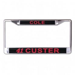 CC 2020 Haas Metal License Plate Frame