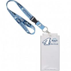 Kevin Harvick 2020 Busch Light Stewart-Haas Racing Credential Holder w/Lanyard & Buckle
