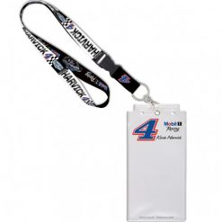Kevin Harvick 2020 Mobil 1 Stewart-Haas Racing Credential Holder w/Lanyard & Buckle