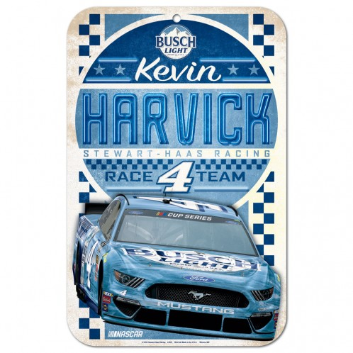 Kevin Harvick 2020 Busch Light Stewart-Haas Racing 11X17 Sign
