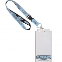 Exclusive Stewart-Haas Racing Credential Holder w/Lanyard & Buckle