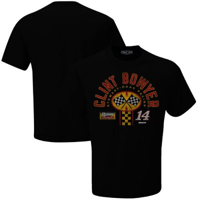 Clint Bowyer 2020 Rush Truck Centers Stewart-Haas Racing Pit Stop Tee