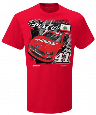 Cole Custer 2020 Haas Stewart-Haas Racing Backstretch Tee