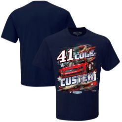 Cole Custer 2020 Haas Stewart-Haas Racing Patriotic Tee