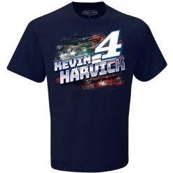 Kevin Harvick 2020 Busch Light Stewart-Haas Racing Patriotic Tee
