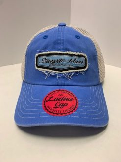 Exclusive Stewart-Haas Racing Ladies Blue Vintage Hat
