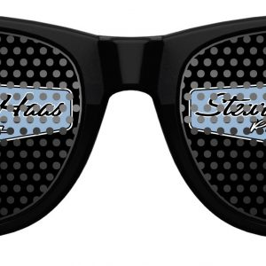 Exclusive Stewart-Haas Racing Black Retro Sunglasses