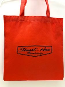 Exclusive Stewart-Haas Racing Red Poly Bag