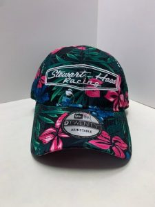 Exclusive Stewart-Haas Racing New Era Black Floral Hat