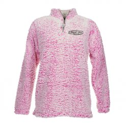 Exclusive Stewart-Haas Racing Ladies Magenta Sherpa