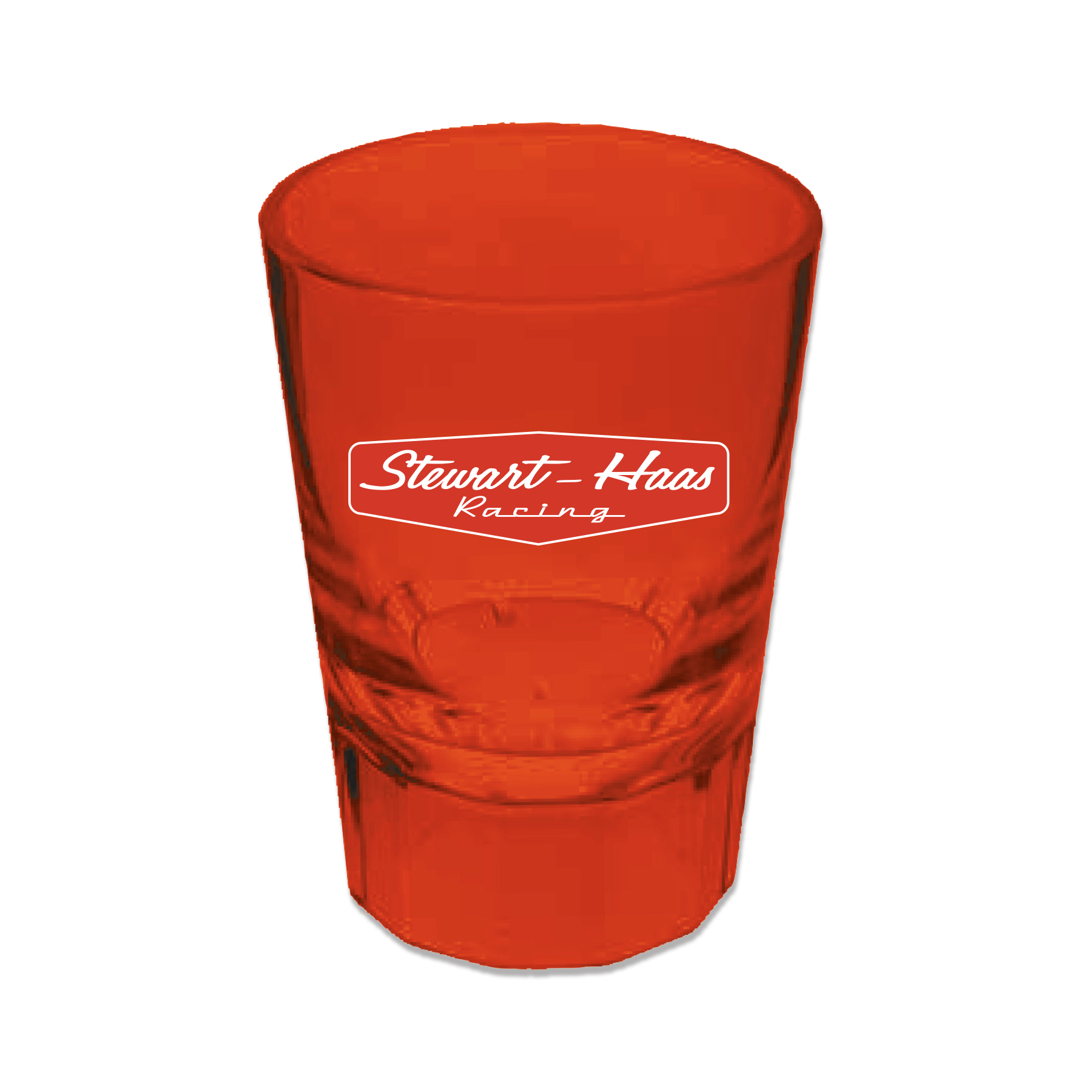 Exclusive Stewart-Haas Racing Red Acrylic 2oz Shot Glass