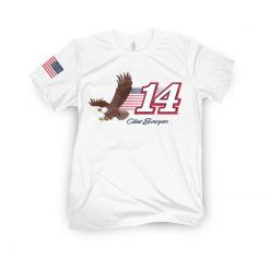 Clint Bowyer 2020 Barstool Sports Stewart-Haas Racing Eagle Tee