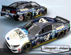 Kevin Harvick 2020 Busch Head For The Mountains 1/24 Scale HO Diecast