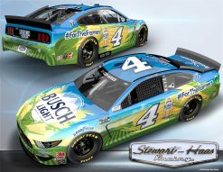 Kevin Harvick 2020 Busch Light Stewart-Haas Racing #ForTheFarmers 1/24 Scale HO Diecast