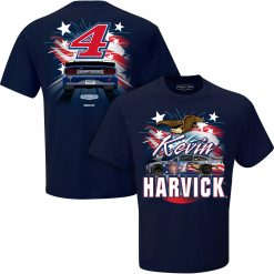 Kevin Harvick 2020 Busch Light Stewart-Haas Racing Patriotic Indianapolis Tee