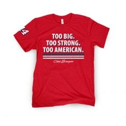Clint Bowyer 2020 Barstool Sports Stewart-Haas Racing Too American Tee