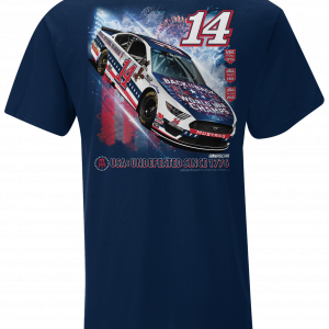 Clint Bowyer 2020 Barstool Sports Stewart-Haas Racing USA Tee