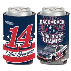Clint Bowyer 2020 Barstool Stewart-Haas Racing Can Cooler