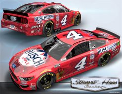 Kevin Harvick 2020 Busch Light Apple Stewart-Haas Racing 1/24 Scale Elite Diecast