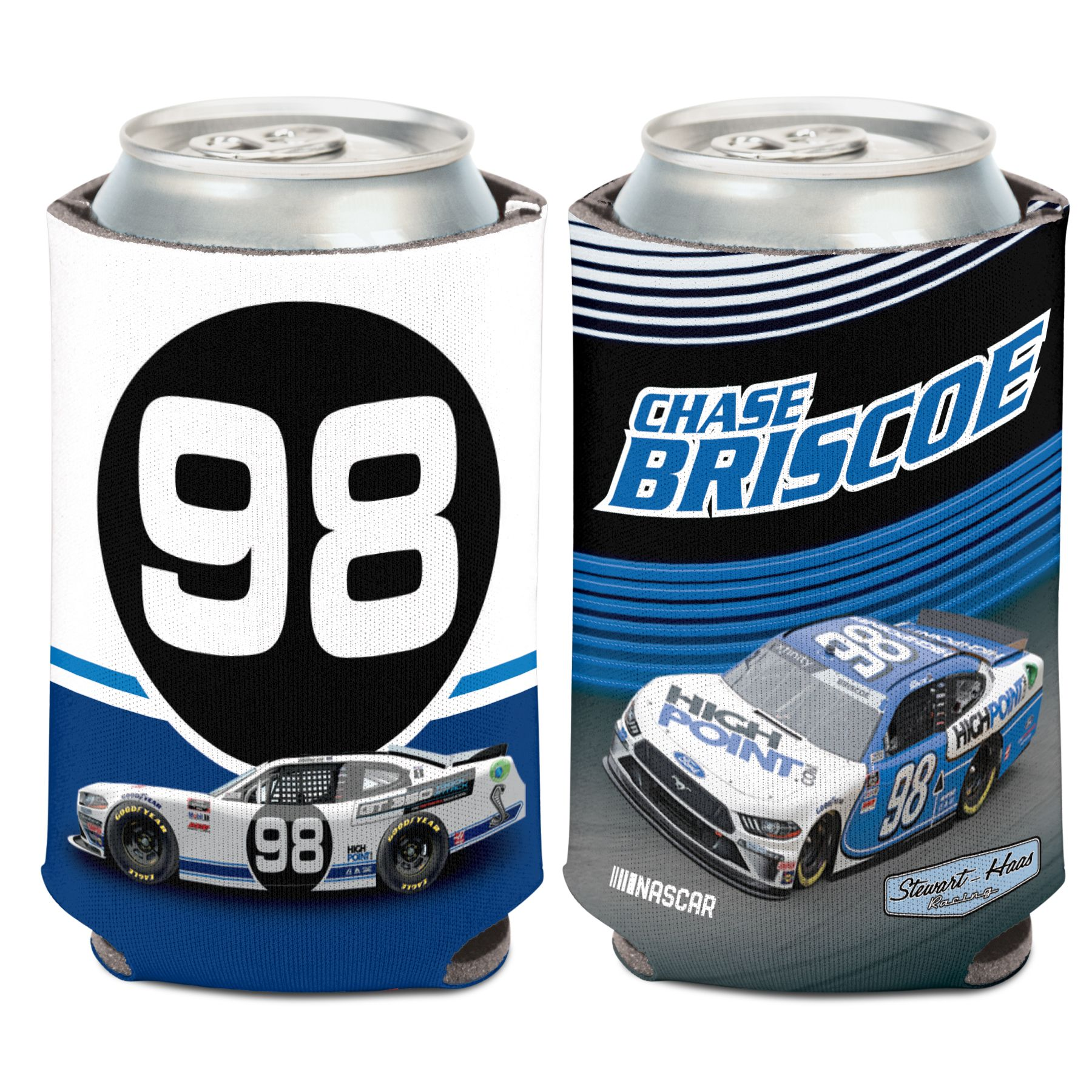 Chase Briscoe Xfinity Stewart-Haas Racing Can Cooler