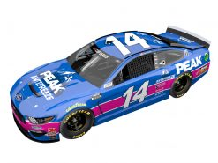 Clint Bowyer 2020 Peak Stewart-Haas Racing Darlington Throwback 1/24 Scale HO Diecast